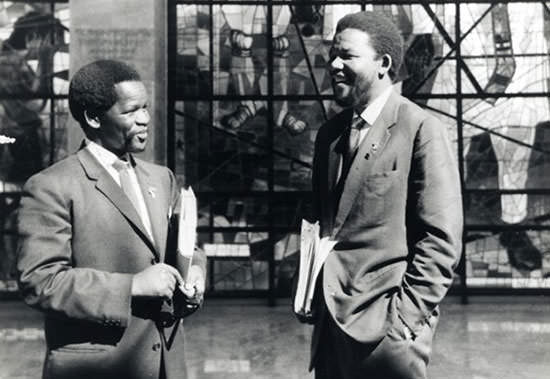 Oliver Tambo and Nelson Mandela