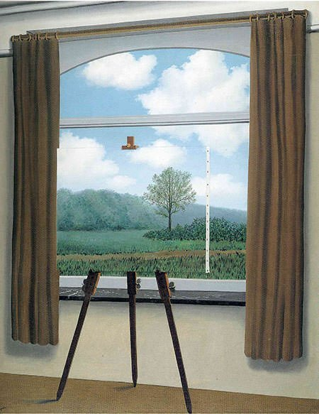 The Human Condition (1933) - Rene Magritte