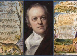 William Blake Famous Poems Featured