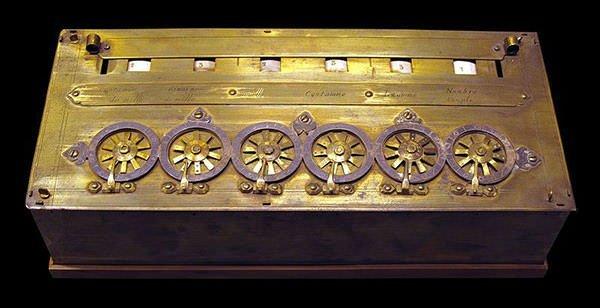 Pascal's Calculator or Pascaline
