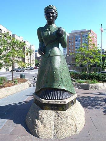 Harriet Tubman Statue in New York City