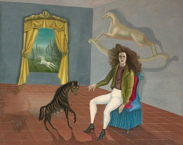 Self-Portrait, The Inn of the Dawn Horse (1938) - Leonora Carrington