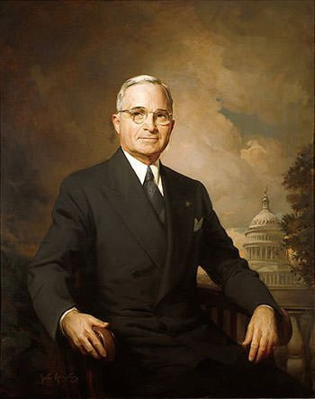 Presidential Portrait of Harry S. Truman