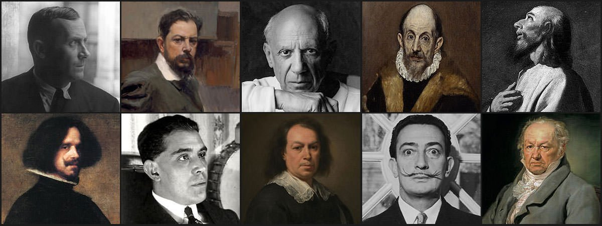 Famous Spanish Painters Featured