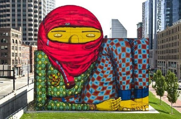 The Giant of Boston (2012) - Os Gemeos