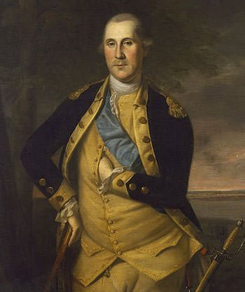 George Washington in July 1776