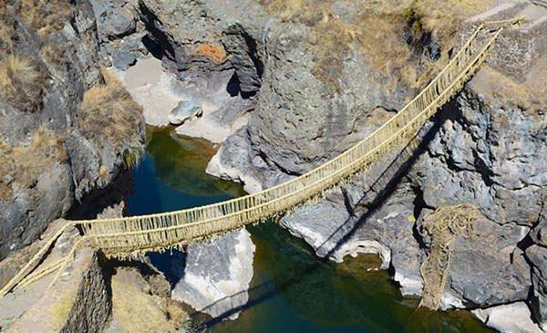 Q'eswachaka suspension bridge