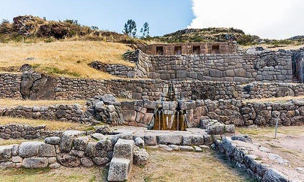 Tambomachay in Cuzco, Peru