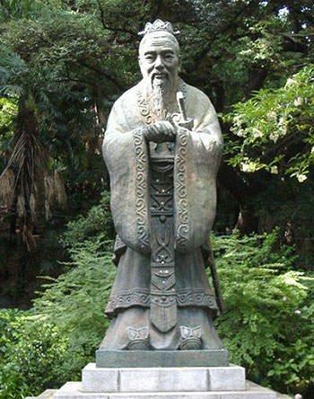 Statue of Confucius in Japan