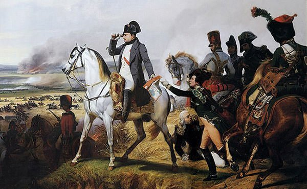 Napoleon at the Battle of Wagram