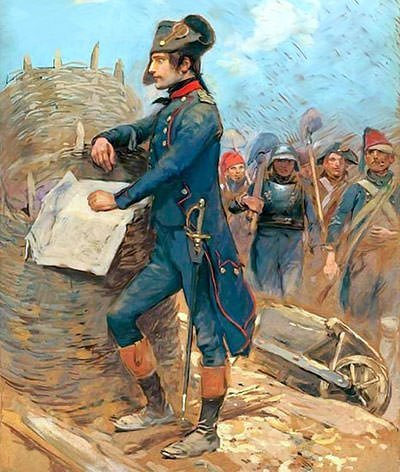Napoleon at the Siege of Toulon