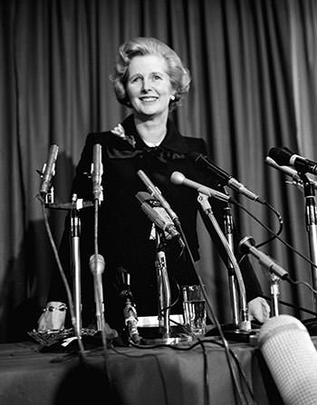 Thatcher elected Tory leader