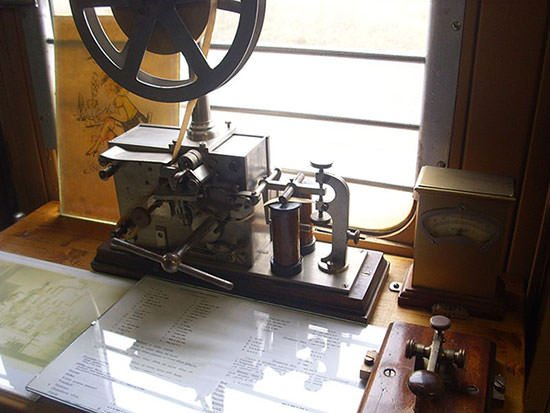 Telegraph of Samuel Morse