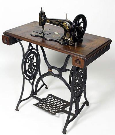 Sewing Machine of Isaac Merritt Singer