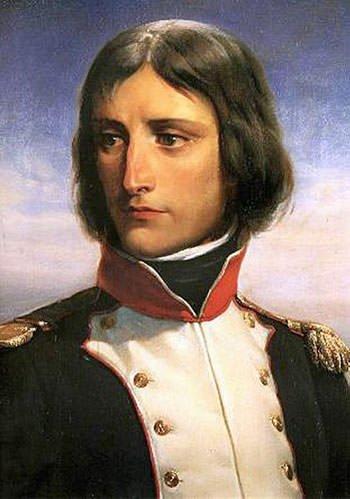 Napoleon Bonaparte at the age of 23
