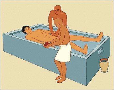 Stage 1 of Mummification