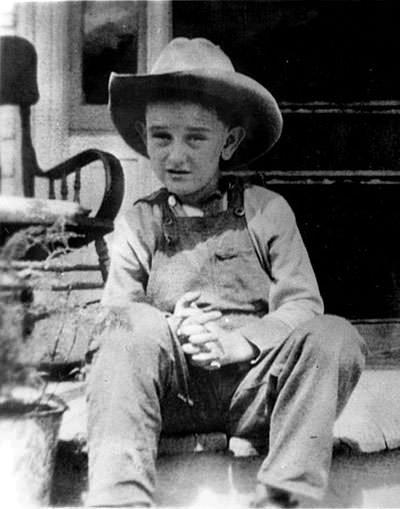 Lyndon Johnson as a kid