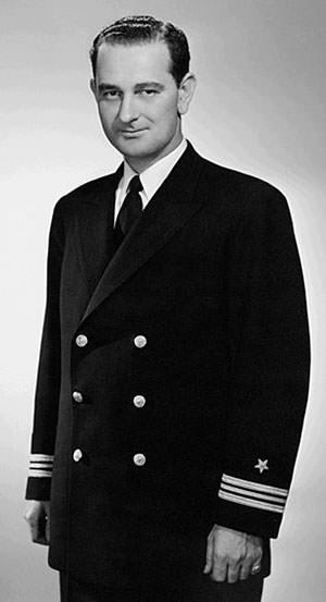Lyndon B Johnson in 1942