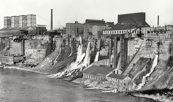 Niagara Falls Power Plant