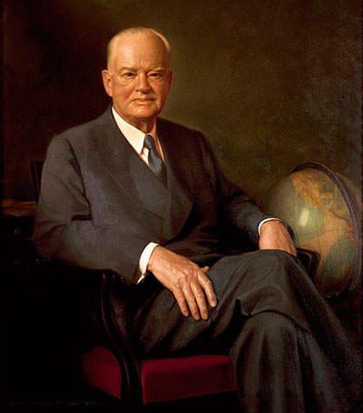 Herbert Hoover Presidential portrait