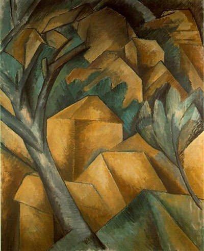 Houses at Estaque (1908) - Georges Braque