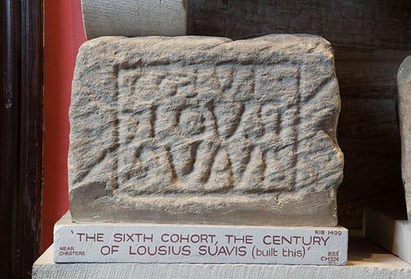 Hadrian Wall centurial stone