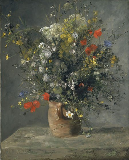 Flowers in a Vase (1866)