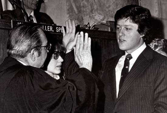 Bill Clinton as Governor of Arkansas