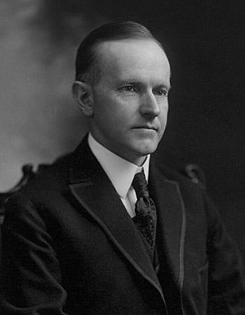 Calvin Coolidge in 1919