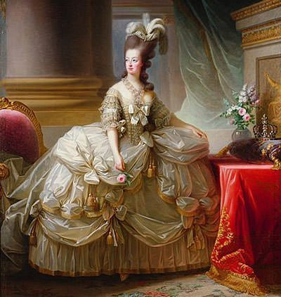 Marie Antoinette in Court Dress