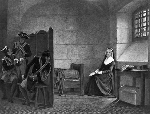 Marie Antoinette in prison