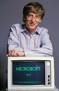 Bill Gates in 1985