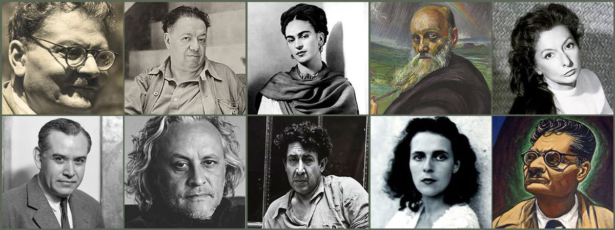 Famous Mexican Artists Featured