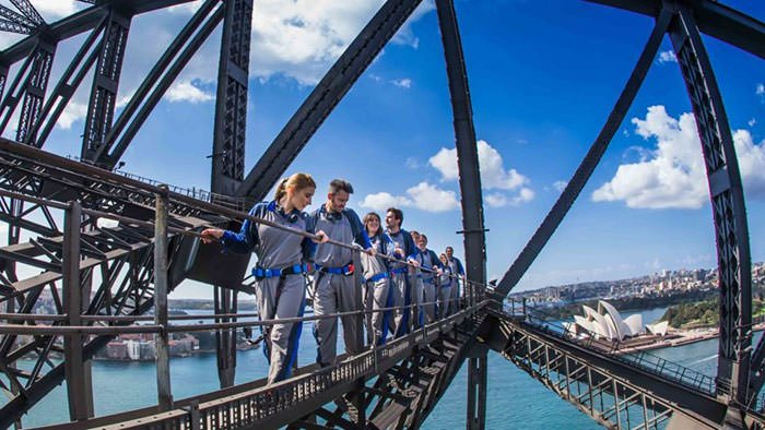 BridgeClimb Sampler of the Sydney Harbor Bridge