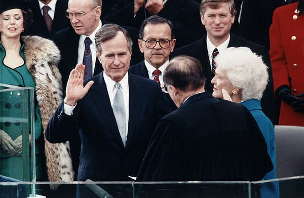 George H. W. Bush Presidential Oath