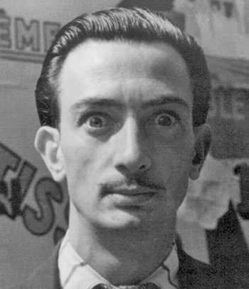Salvador Dali in 1934