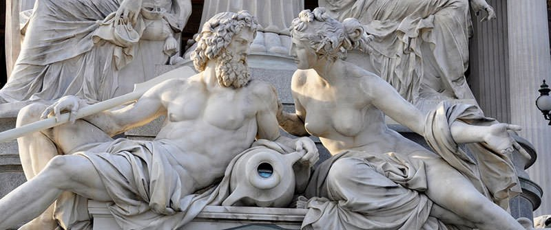 Statue of Zeus And Hera