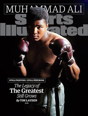 Muhammad Ali on Sports Illustrated