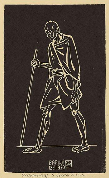 Bapu, Dandi March (1930)