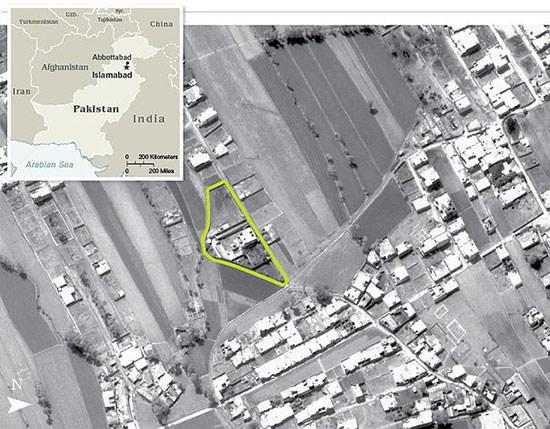 Osama bin Laden hideout