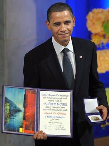 Barack Obama Nobel Peace Prize