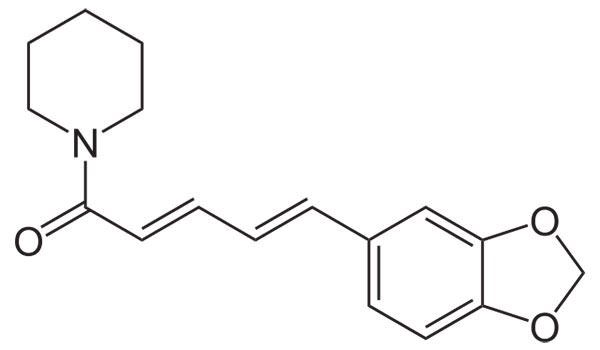 Structure of Piperine