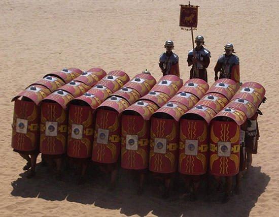 Roman Testudo formation