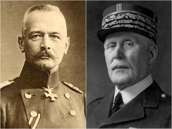 Erich von Falkenhayn & Philippe Petain
