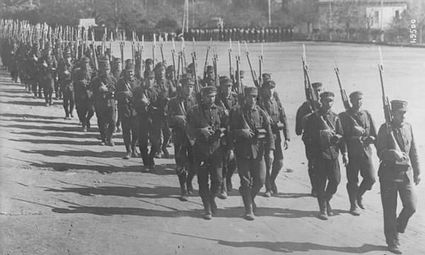 Greek army in WW1