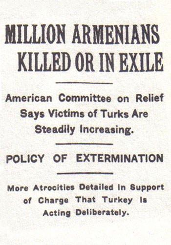 Armenian Genocide report