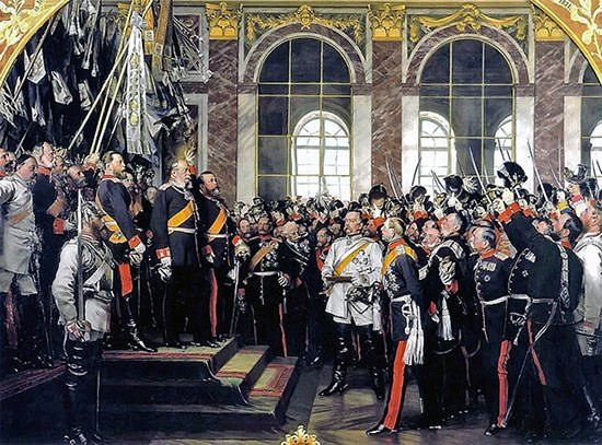 Proclamation of Wilhelm I as German Emperor