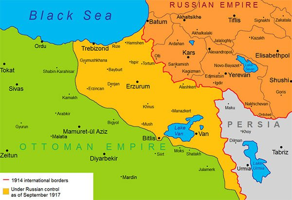 The Caucasus Front in September 1917