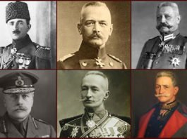 WW1 Military Leaders Featured