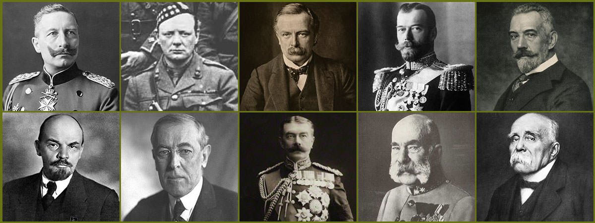 WW1 Political Leaders Featured